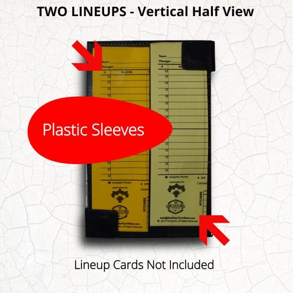 Lineup Card Holder