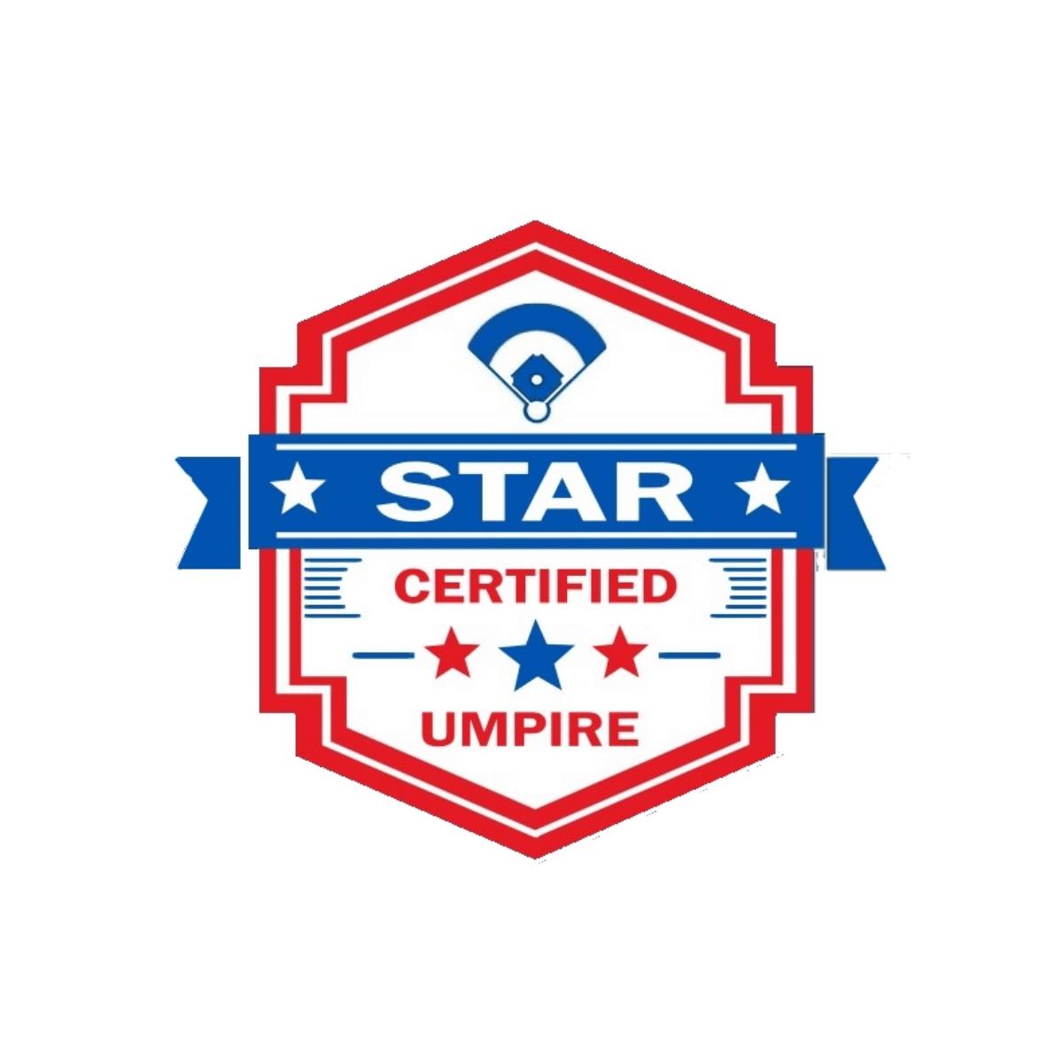 STAR Certificate - Umpire