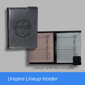 Umpire Lineup Card Wallet